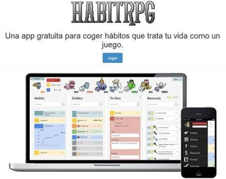 Habitrpg, la gamificación llevada a la gestión de tareas | Creación y gestión de Aplicaciones Web & Móvil | Scoop.it