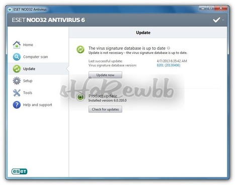 Application : ESET NOD32 Antivirus/Smart Security v6.0.316.0 | Free Services To get (PC Games, Applications/Softwares, Movies, E-Books, TV Shows) | PC-Game, Applicaton, Movies | Scoop.it