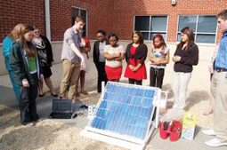Solar Project Inspires 'Spark of Interest' | Yale Climate Connections | oskreddy | Scoop.it