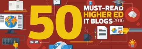 The 2016 Dean's List: EdTech's 50 Must-Read Higher Ed IT Blogs | Into the Driver's Seat | Scoop.it