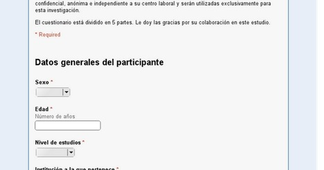 Participa en la investigación | Aprendiendoaenseñar | Scoop.it