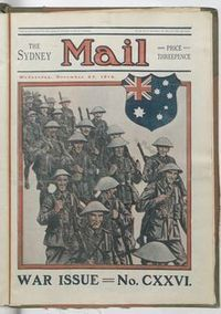 World War I in the Sydney Mail   WW1 teaching resources   Scoop.it