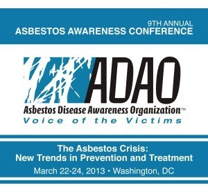 Asbestos Disease Awareness Organization (ADAO) Takes Our Annual Spring Conference Back to Washington, D.C. | Asbestos and Mesothelioma World News | Scoop.it