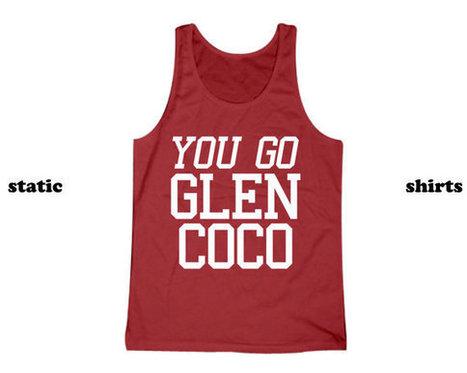 You Go Glen Coco Tank Top   Mean Girls Tanktop Singlet   T-Shirt   Scoop.it