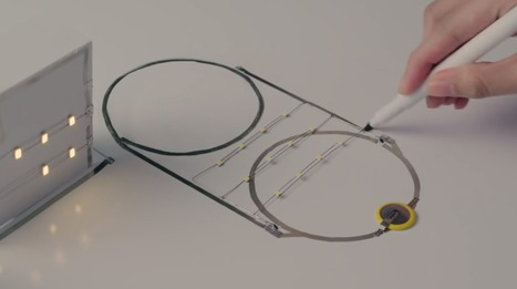 """Silver Ink Circuit Pen Creates """"Future With Bright Lights""""   3D Virtual-Real Worlds: Ed Tech   Scoop.it"""