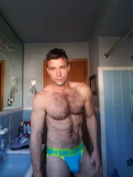 Hairy Blue.dj Sexy Selfies - Shirtless Hunk Photos | THEHUNKFORM.NET | Scoop.it