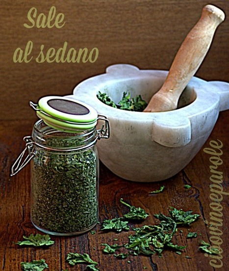 CIBO,VINO E PAROLE: Sale al sedano | FOOD BLOG | Scoop.it