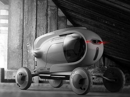 Capsule, le véhicule rétro-futuriste aux faux-airs de rover | Concept  design | Scoop.it