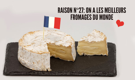 Top 40 des excellentes raisons d'être fier d'être français, quand même… | TICE et langues | Scoop.it