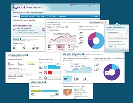 Yahoo Launches Marketing Dashboard For Small Business | formation 2.0 | Scoop.it