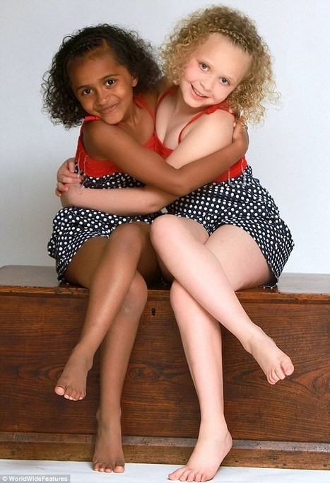 Look At Us Now: The BLACK AND WHITE TWINS As They Turn Seven   Afro Parents   Scoop.it