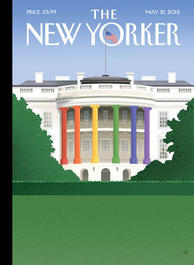 The New Yorker Cover: Barack Obama and Gay Marriage | Art, photography, design, tech, culture & fashion | Scoop.it