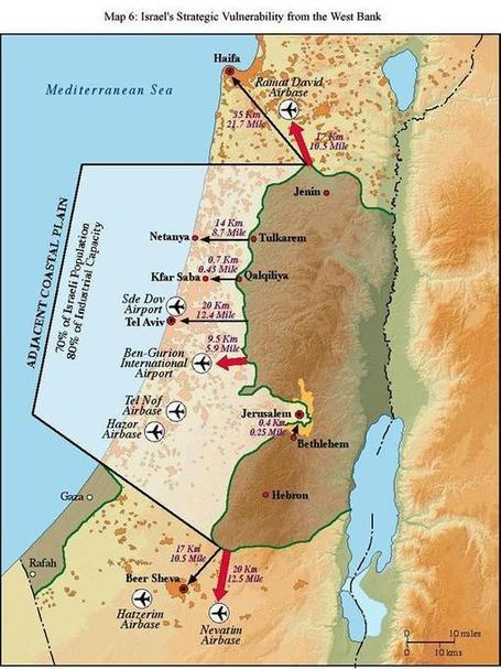The not defendable borders of lesser Israel | Truth Revealed | Scoop.it
