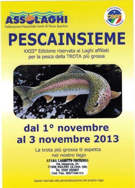 Pescainsieme : dal 1 al 3 Novembre | Pescare e la Pesca Sportiva | Scoop.it