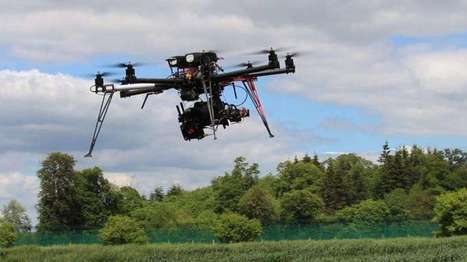BBSRC/Rothamsted mentions: Octocopter! Experimental drone for agricultural research | BIOSCIENCE NEWS | Scoop.it