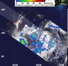 NASA sees a 'hot tower' in newborn eastern Pacific Tropical Depression 2E - Phys.Org | Physics | Scoop.it