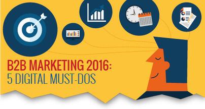 B2B Marketing 2016: 5 Digital Must-Dos [Infographic] | Infographic Marketing | Scoop.it