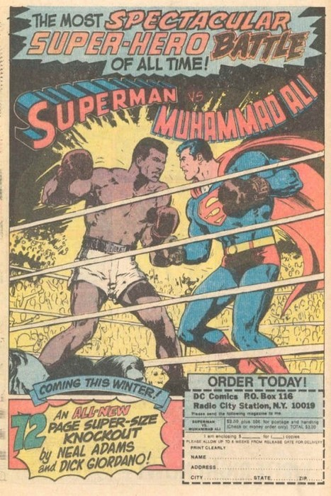 Superman vs. Muhammad Ali | Most influential sports figures | Scoop.it
