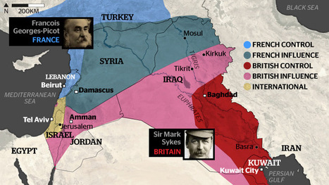 Iraq and Syria: the situation in six maps | Walkerteach Geo | Scoop.it