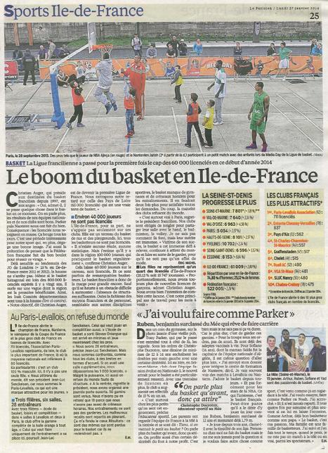 Chatou Croissy Basket Club 10e club le plus attractif des Yvelines | Croissy sur Seine | Scoop.it