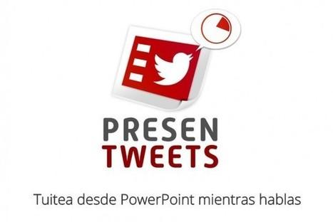 presentweets, complemento para PowerPoint para tuitear mientras presentas | Educacion, ecologia y TIC | Scoop.it