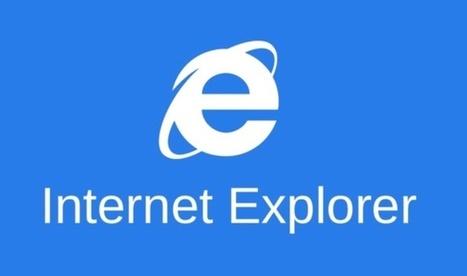 Microsoft annonce la mort d'Internet Explorer son célèbre navigateur | Bonnes pratiques du e-tourisme | Scoop.it