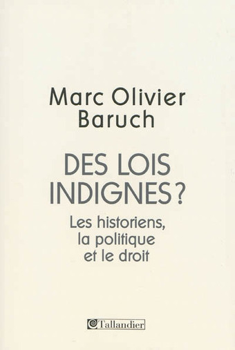 Les historiens et la politique. Entretien avec Marc Olivier Baruch   Nonfiction   À la une   Scoop.it