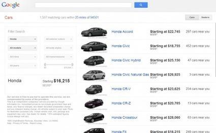 Google Cars : un nouveau service de Google qui ...   Geeks   Scoop.it