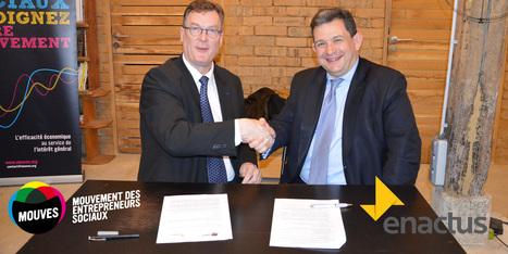 Le Mouves et Enactus partenaires pour une nouvelle génération d'entrepreneurs sociaux   Innovation sociale   Scoop.it