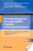Knowledge Management, Information Systems, E-Learning, and Sustainability Research | EPA Entornos Personales de Aprendizaje | Scoop.it