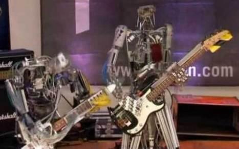 German robots brought to life as heavy metal stars | Strange days indeed... | Scoop.it