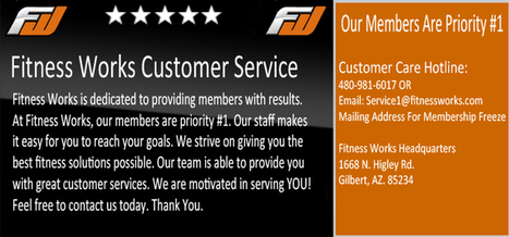Fitness Works Gilbert | Gyms in Gilbert, AZ | Extreme Fitness Work | Scoop.it