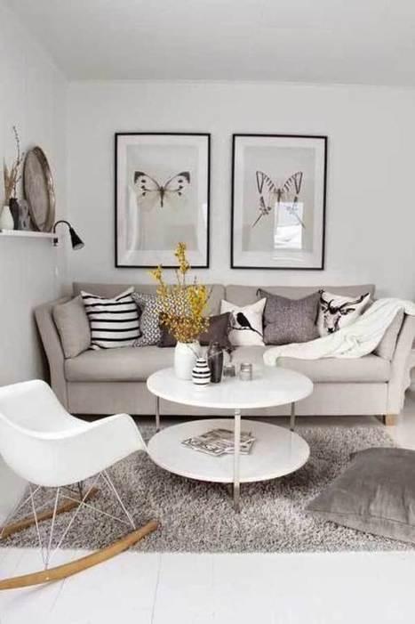 30 fotos e ideas para decorar un salón pequeño. | Mil Ideas | Decoración de interiores | Scoop.it