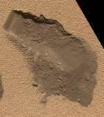 Photos - Curiosity a détecté un composé organique dans le sol martien | About Curiosity... | Scoop.it