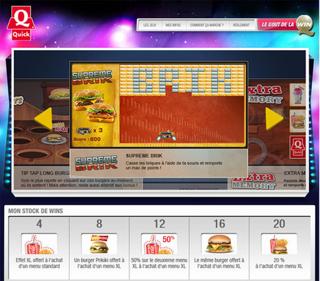 La restauration rapide se lance dans l'advergaming | My Serious Game | Gamification World | Scoop.it