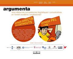 Argumenta   Ensenyar català   Scoop.it