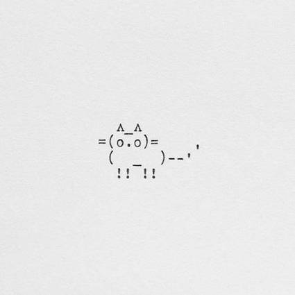 Japan Twitter's Best ASCII Cat Art | ASCII Art | Scoop.it