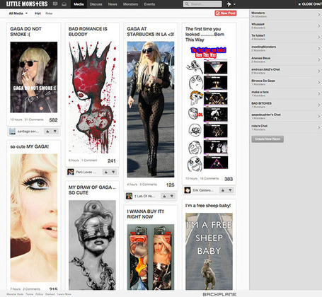 Little Monsters, le réseau social de Lady Gaga, est ouvert à tous ! | Freewares | Scoop.it