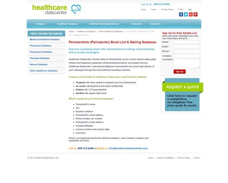Periodontists Email List | Mailing Addresses | Email Database | Healthcare Datacenter | Scoop.it