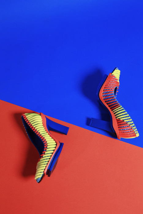 Layered 3D Footwear Designs by Chengxu Tian - Design Milk | CLOVER ENTERPRISES ''THE ENTERTAINMENT OF CHOICE'' | Scoop.it
