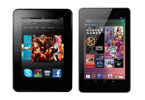 Kindle Fire HD vs. Nexus 7: Which one is right for you? which  app ecosystem may be the best for #education & #elarning?   Social Reading & Writing: cultural techniques with social networks   Scoop.it