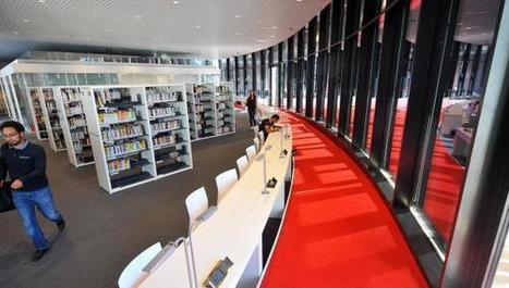 Villeneuve-d'Ascq : Lilliad, la bibliothèque universitaire du futur est ouverte - La Voix du Nord | architecture & design en bibliotheques | Scoop.it