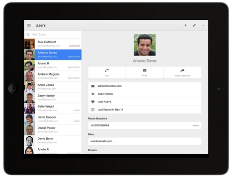 New Google Admin App for iOS | 21st Century Teaching and Technology Resources | Scoop.it