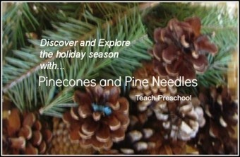 Six ways to discover and explore the holiday season with pinecones and pine needles | Teach Preschool | Scoop.it