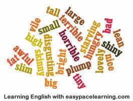 Adjective exercise find the adjectives | Early Childhood Activities for Lessons | Scoop.it
