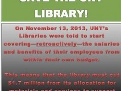 The UNT Library Budget Cuts: The Back Story | A Container for Thought | Scoop.it