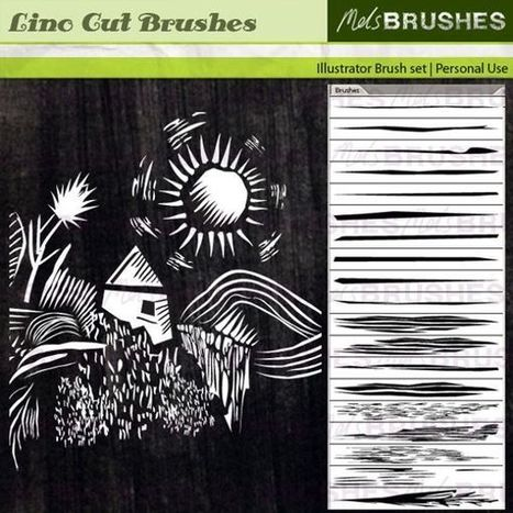 50+ Free Illustrator Brushes for Download | Digital Photography | Scoop.it