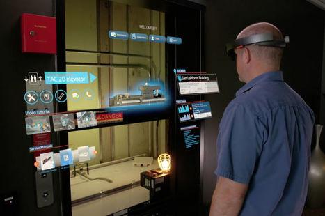 Avec le casque de réalité augmentée HoloLens, ThyssenKrupp veut créer un technicien 4.0 | Pep'up convergence | Scoop.it