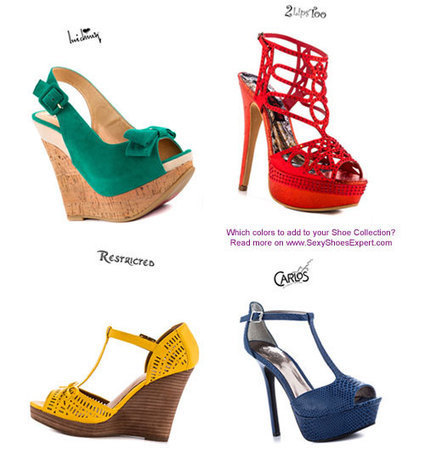 Which colors should you add to your Shoe Collection? | Sexy Shoes For Women | Scoop.it