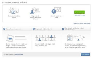 Tuenti Ads: la nueva forma de anunciarse en internet pagando con tarjeta de crédito   Communication, Marketing and Social Media   Scoop.it